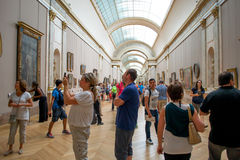 Louvre Museum Paris, France. Royalty Free Stock Photography