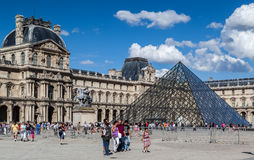 Louvre Museum Paris France Royalty Free Stock Photography