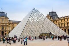 The Louvre museum in Paris Stock Image