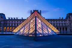 Louvre Museum in Paris, France royalty free stock image