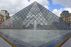 Louvre Museum, Paris, France Royalty Free Stock Photos