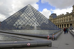 Louvre Museum, Paris, France Stock Photography
