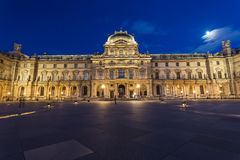 Louvre Museum in Paris, France Royalty Free Stock Photos