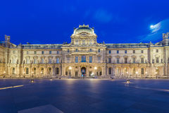 Louvre Museum in Paris, France. Stock Photos
