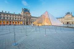 The Louvre Museum in Paris Royalty Free Stock Photo