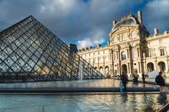 Louvre Museum in Paris,France. Stock Photo