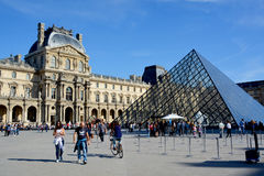 :Louvre Museum Royalty Free Stock Photo