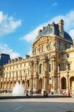 The Louvre museum in Paris, France Royalty Free Stock Images