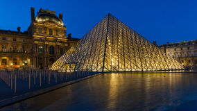 Louvre Museum in Paris, France. Stock Photo