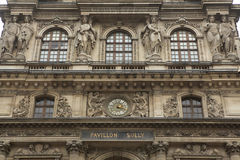 Louvre Museum in Paris, France. Stock Photography