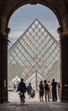 Louvre Museum Paris France Stock Photography