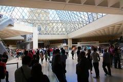 Louvre Museum Paris, France Stock Photo