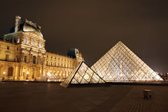 Louvre museum, Paris. France Stock Image