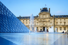 Louvre Museum in Paris, France. Royalty Free Stock Photo