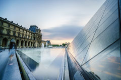 Louvre Museum in Paris, France. Stock Image