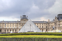 The Louvre Museum. Paris, France Stock Photo