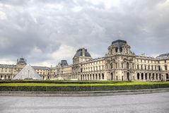 The Louvre Museum. Paris, France Stock Image