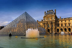 Louvre museum, Paris, France Royalty Free Stock Photo
