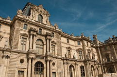 Louvre museum in Paris Royalty Free Stock Photos