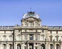 Louvre-Museum in Paris - Hof Stockbilder