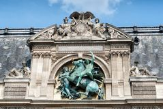 Louvre museum in Paris Stock Image