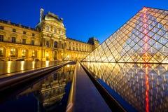 Louvre museum Paris Royalty Free Stock Photography