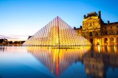 Louvre museum Paris Stock Image
