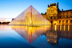 Louvre Museum Paris Stock Photography