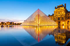 Louvre museum Paris Royalty Free Stock Image