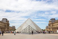 Louvre Museum Paris Royalty Free Stock Photography