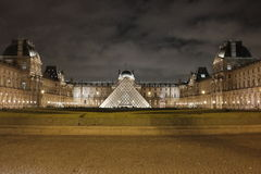 The Louvre Museum, Paris. Looking at the most famous, largest and most exciting museum in the world, the Louvre of Paris, France Royalty Free Stock Photos