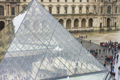 Louvre Museum. Stock Images