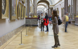 The Louvre Museum. Stock Photos