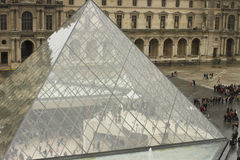 Louvre Museum. Stock Photography