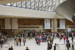 Louvre Museum. Royalty Free Stock Images
