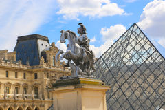 Louvre Museum - Paris Royalty Free Stock Image