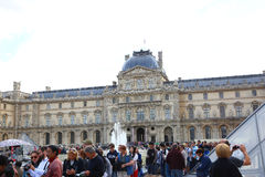 Louvre museum - Paris Royalty Free Stock Photography