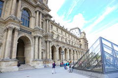 Louvre Museum - Paris Royalty Free Stock Photos