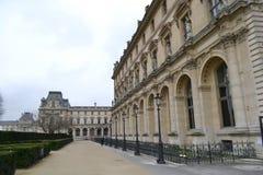 The Louvre Museum in Paris Stock Images