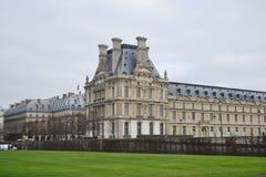 The Louvre Museum in Paris. Stock Image