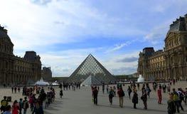 Louvre museum, Paris Stock Image