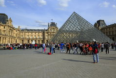 Louvre museum, Paris Stock Photo