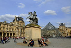 Louvre museum, Paris Stock Photography