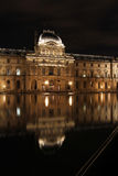 Louvre museum reflection Royalty Free Stock Photos