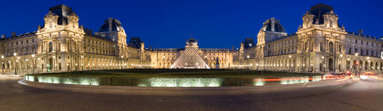 Louvre Museume Royalty Free Stock Photos
