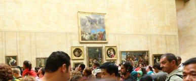 Louvre Muzealny Paryż, Francja Fotografia Stock