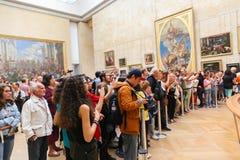 Louvre Muzealny Paryż, Francja Obraz Royalty Free