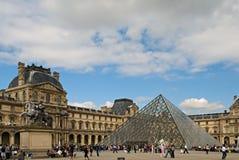Louvre muzeum Obraz Stock