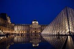 Louvre muzeum Zdjęcia Royalty Free
