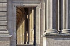 louvre muzeum Paris fotografia royalty free